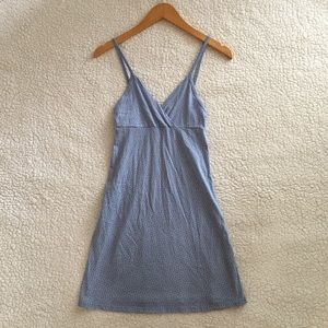 Brandy Melville light blue white daisy Amara dress